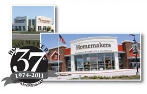 Visit Homemakers Furniture Valley West Inn