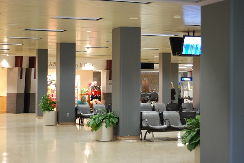 The Des Moines International Airport Lobby
